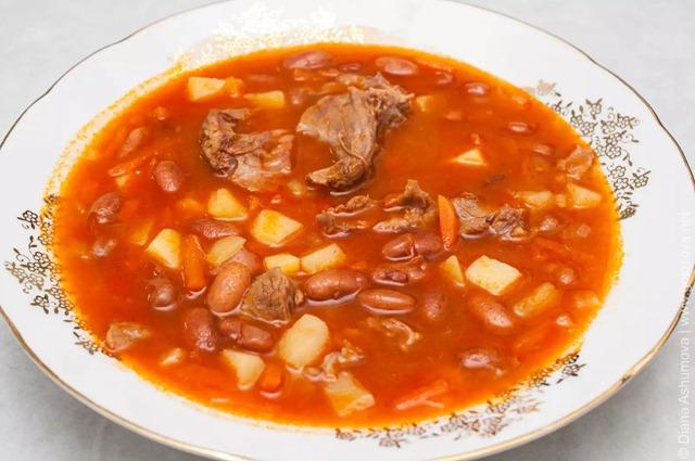Как сварить суп из фасоли рецепт 136